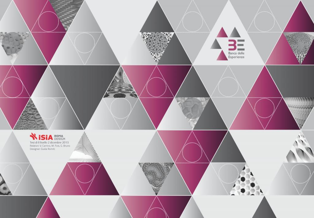 concept Banca delle Esperienze _ cartella stampa : design Giulia Romiti