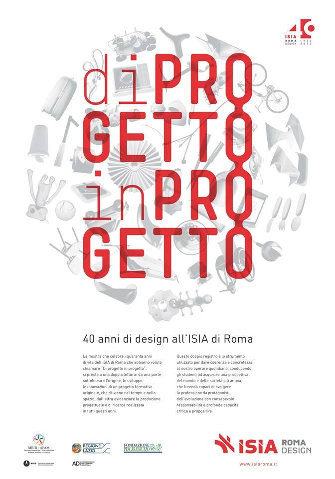 manifesto 40ISIA :: di progetto in progetto _ 2014