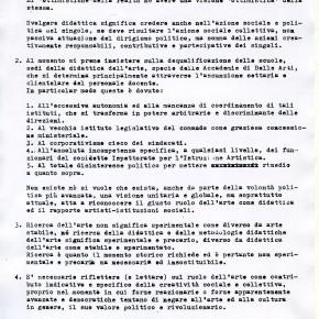 profNicolaCarrino_Palazzo-delle-Esposizioni-Roma-1978__ARTERICERCA 78_comunicato1